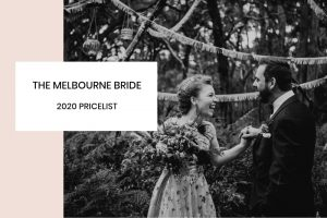 The Melbourne Bride 2020 Pricelist