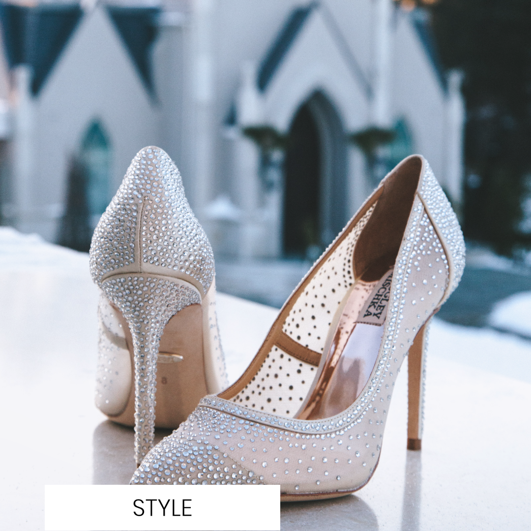 How to easily break in your wedding shoes